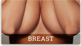 picture of woman's breasts partially covered that links to the Procedures page